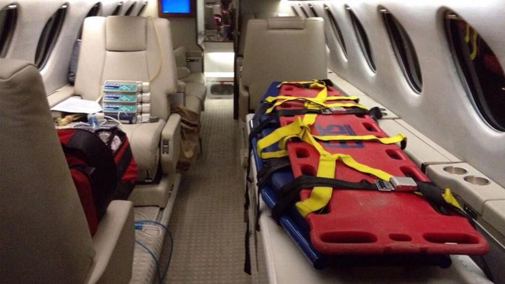 Transport médicalisé pour des patients et leurs familles